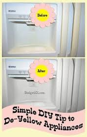 how to clean yellowed white doors de yellowing formula for appliances do it yourself