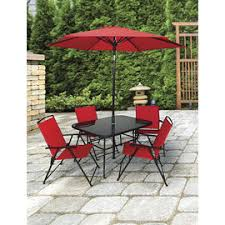 Red Patio Set by Patio Furniture London Drugs