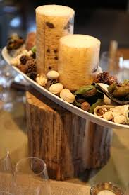 Simple Centerpieces The 25 Best Tree Stump Centerpiece Ideas On Pinterest Country