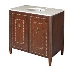 discover gryphon single vanity packaged with sink and slab top 36