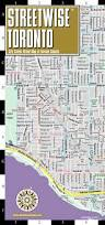Map Toronto Canada by Streetwise Toronto Map Laminated City Center Street Map Of
