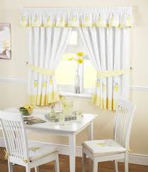 kitchen curtain ideas yellow fabric white with yellow curtains move your mouse over image white