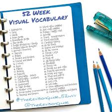 visual vocabulary u2013 the revision guide