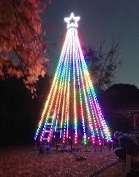 mega tree bluebonnet lights