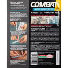 How To Get Rid Of Small Ants In Bathroom Combat Ant Killing Bait Strips 5 Ct Pack Walmart Com