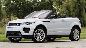 land rover range rover evoque 2016 2017 land rover range rover evoque convertible first drive