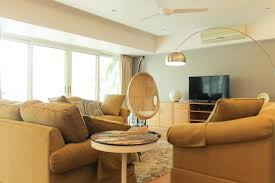Hanging Cane Chair India Swing Rattan Chair In India Living Room Before U0026 After Chuzai