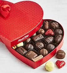 chocolate heart box may assorted chocolate heart box 1 lb