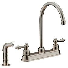 Faucets Wholesale Kitchen Brushed Nickel Kitchen Faucet With 347298 Front Single