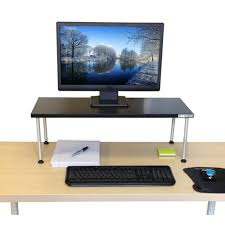 titan monitor stand adjustable standing stand up desk stand