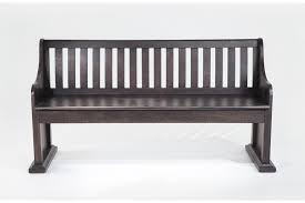 Garden Bench With Storage - sanctuary full back storage bench bob u0027s discount furniture