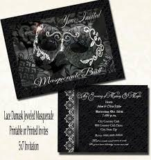 masquerade wedding invitations 7 best senior formal images on bridal showers formal