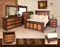 Artisan Furniture IFD Copper Canyon Bedroom - Artisan home furniture