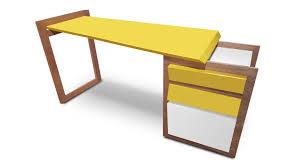 mobilier bureau design bureau design bois agrafe bureau ou table design duappoint