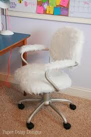 faux fur desk chair fuzzy office chair modern elegant furry desk 53 about remodel chairs