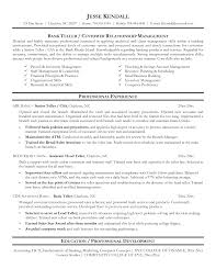 personal banker resume sample resume for your job application