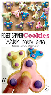 cookie emoji how to make fidget spinner cookies red ted art u0027s blog