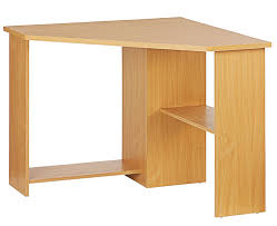 Corner Desk With Shelves by Function Home Office Corner Desk Color Beech Effect Amazon Co