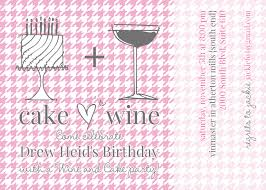 wine birthday jackie fo a pink white and gray birthday bash