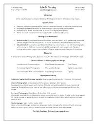 freelance resume template this is resume for photographer photography resume template