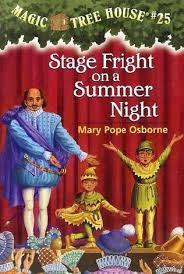 stage fright on a summer the magic tree house wiki