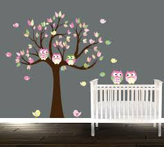 stickers hibou chambre bébé stickers arbre chambre bb gallery of arbre blanc wall sticker