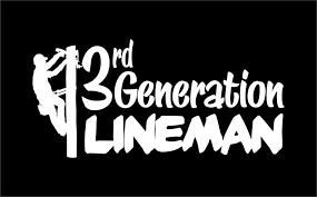 Lineman Barn Decals 3rd Generation Lineman Decal