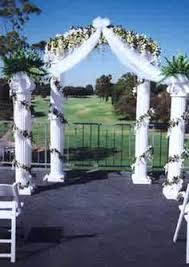 wedding arches and columns wedding arch with hints of and lavender wedding events