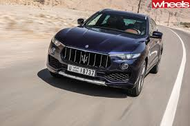 maserati dubai 2018 maserati levante s review wheels