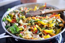 cuisiner les cotes de bettes sauté de côtes de bettes au poivron les papilles estomaquées