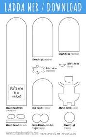 minion bookmarks with template by craft u0026 creativity easy
