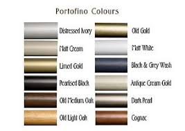 Grey Wooden Curtain Pole Portofino 45mm Wooden Curtain Pole U0026 Fixings Only Various Colours