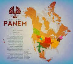 Twin Peaks Map Panem Map Google Search Geek Llfe Pinterest Hunger Games