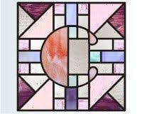 61 best alphabet u0026 number stained glass images on pinterest