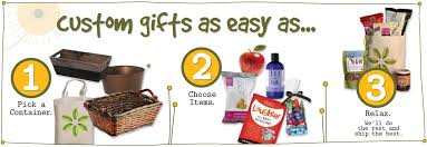Food Gift Delivery Make Your Own Gift Basket Build A Gift Basket For Delivery