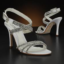 wedding shoes rhinestones the unique look of your rhinestone bridal shoes