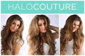 layered extensions authentic halo couture 14 layered hair extension 613 platinum ebay
