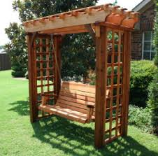 Pictures Of Pergolas In Gardens by Deluxe Pergola Swing Arbor Swing Pergola Swing Garden Swing