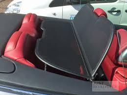 lexus convertible wind deflector infiniti g37 convertible wind deflector 2009 onwards mesh black