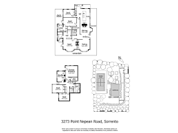 Sorrento Floor Plan 3273 Point Nepean Road Sorrento 3943 Rt Edgar