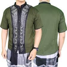 baju koko baju koko pria muslim lengan pendek baju koko modern pria