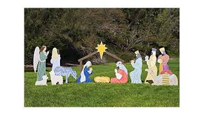top four best size outdoor nativity sets 2017