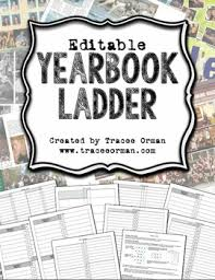 yearbook ladder editable template 16 page signatures yearbooks