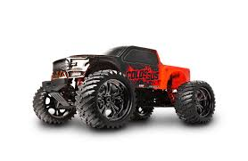 rc monster truck nitro colossus xt mega monster truck rtr hobby recreation products