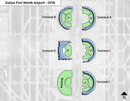 map of dallas fort worth dallas fort worth dfw airport terminal map
