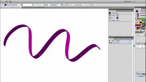 vector typography tutorial illustrator tutorial draw a free flowing vector ribbon youtube