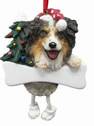 dog breed christmas ornaments dog dangling legs ornaments