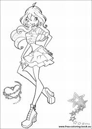 coloring book pages winx club coloring pages winx club printable coloring pages