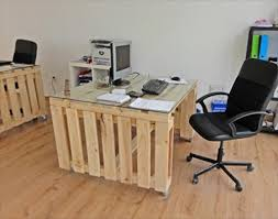 Diy Office Desks Pallet Office Table And Pallet Office Desk Office Table Pallets