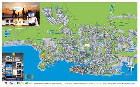 city map zadar tourist board multimedia brochures the zadar city map
